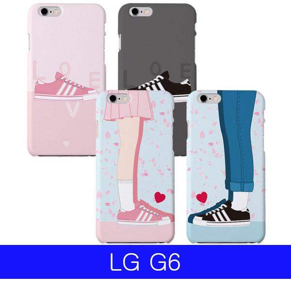 몽동닷컴 LG G6 하트스텝 하드 G600 케이스 엘지G6케이스 LGG6케이스 G6케이스 엘지G600케이스 LGG600케이스
