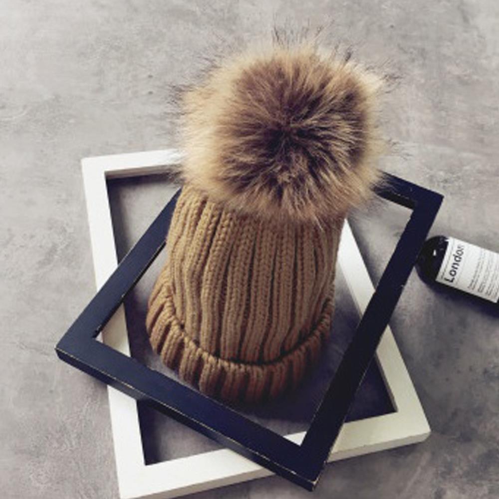 방울털 겨울 브라운 모자 털모자 겨울모자 방한모자 방한용품 겨울모자 털모자 방한모자 겨울신상품