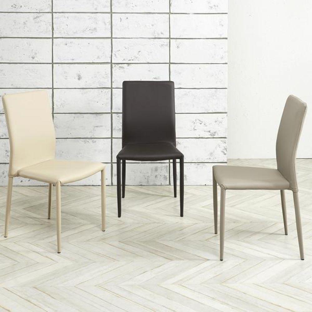 심플라인 인조 가죽 철제 의자 의자 식탁의자 좌식의자 원목의자 책상의자