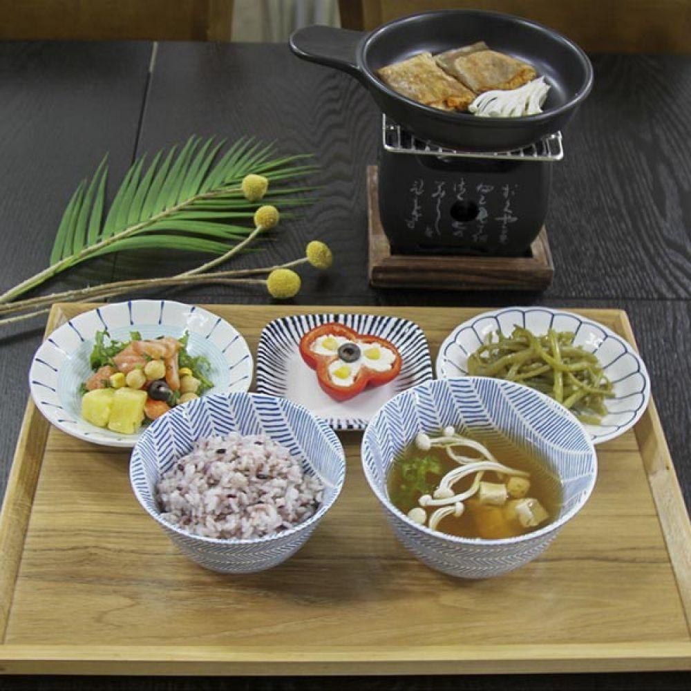 블루린느 대접 5P 국그릇 주방용품 예쁜그릇 식기 주방용품 대접 국그릇 예쁜그릇 식기