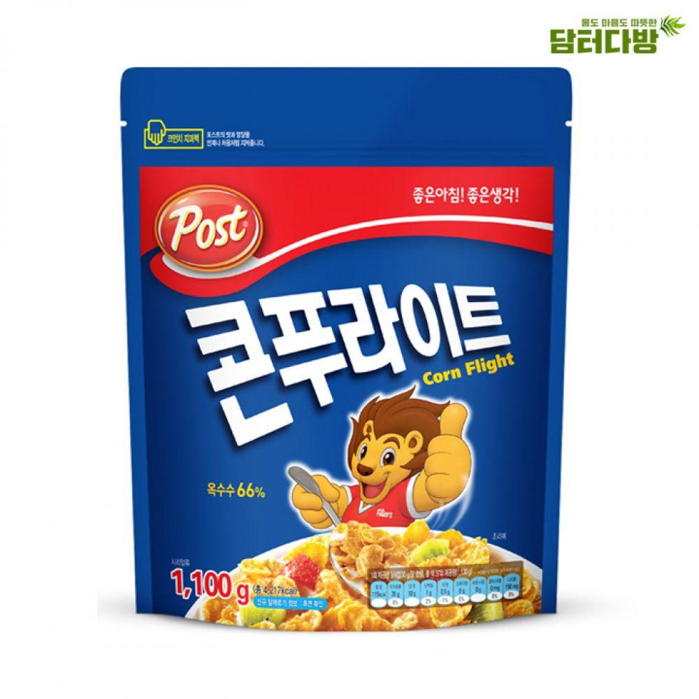 동서식품 포스트 콘푸라이트 1.1kg / 가벼운한끼 동서식품 콘푸라이트 시리얼 맛있는시리얼 동서콘푸라이트 포스트콘푸라이트 콘푸라이트시리얼