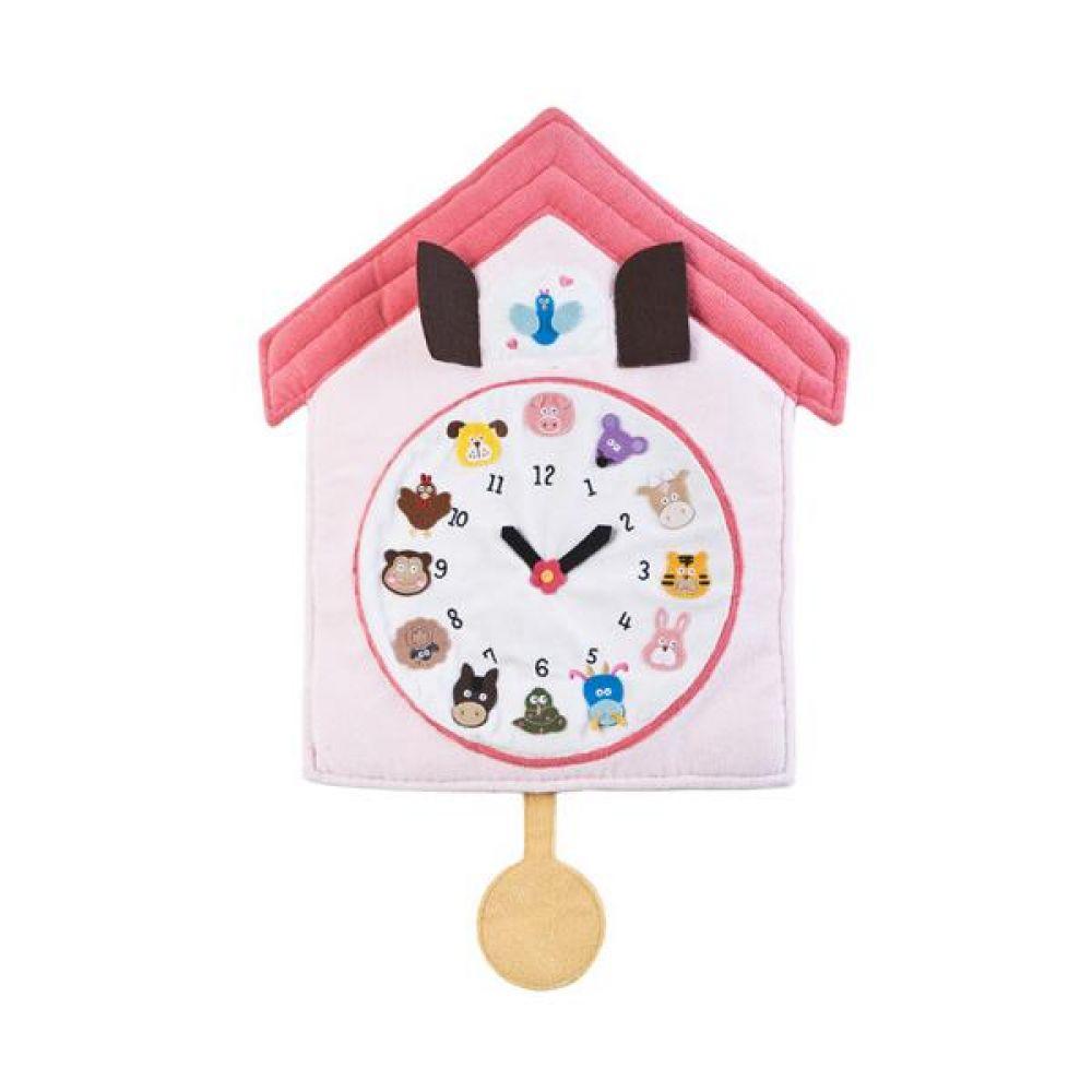 벽장식 12간지 동물시계 완구 문구 장난감 어린이 캐릭터 학습 교구 교보재 인형 선물