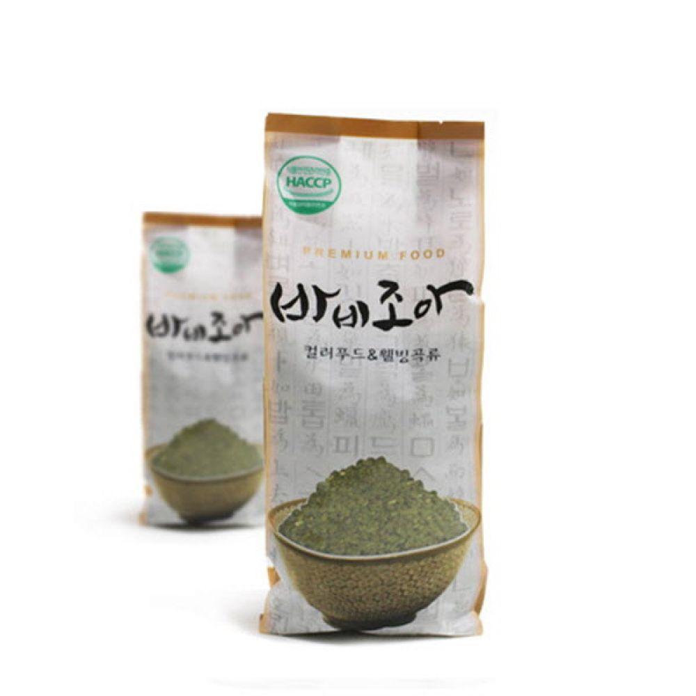 씻어나온 기능성 천연 클로렐라쌀 1kg 쌀 현미 오곡 영양 밥 컬러쌀 칼라쌀 씻은쌀 씻어나온쌀 세척쌀
