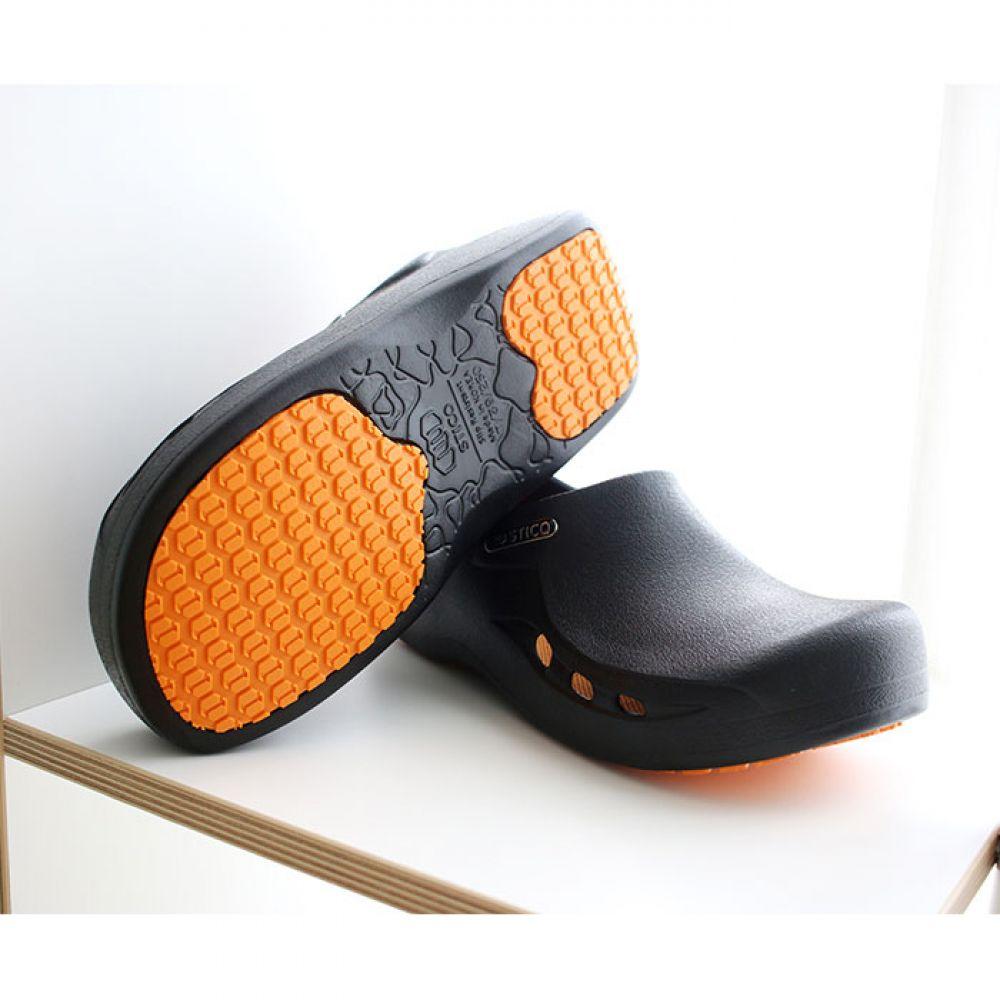스티코 미끄럼 방지 기능성 조리화 NEC-03H 스티코 조리화 안전화 미끄럼방지 주방신발 논슬립 작업화 위생신발 신발 식당