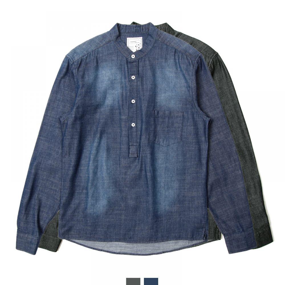커플시밀러룩 빅사이즈 헨리넥 청남방 커플셔츠 커플시밀러룩 커플룩 시밀러룩 커플셔츠 커플남방 웨딩촬영커플룩 남자셔츠 여자셔츠 남자청남방 여자청남방