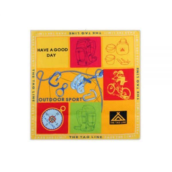 (10개묶음)면60수 등산손수건(60cmX60cm) 땀흡수 땀수건 등산 손수건 판촉물 로고인쇄