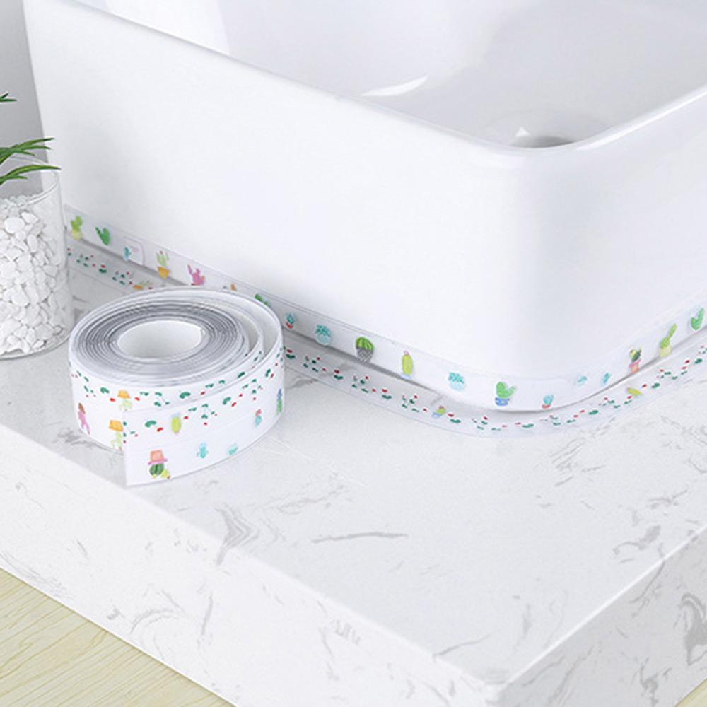 테잎 선인장 방수 테이프 틈새 실링 욕실 곰팡이 보호 테이프 테잎 방수테이프 실링테이프 방수테잎