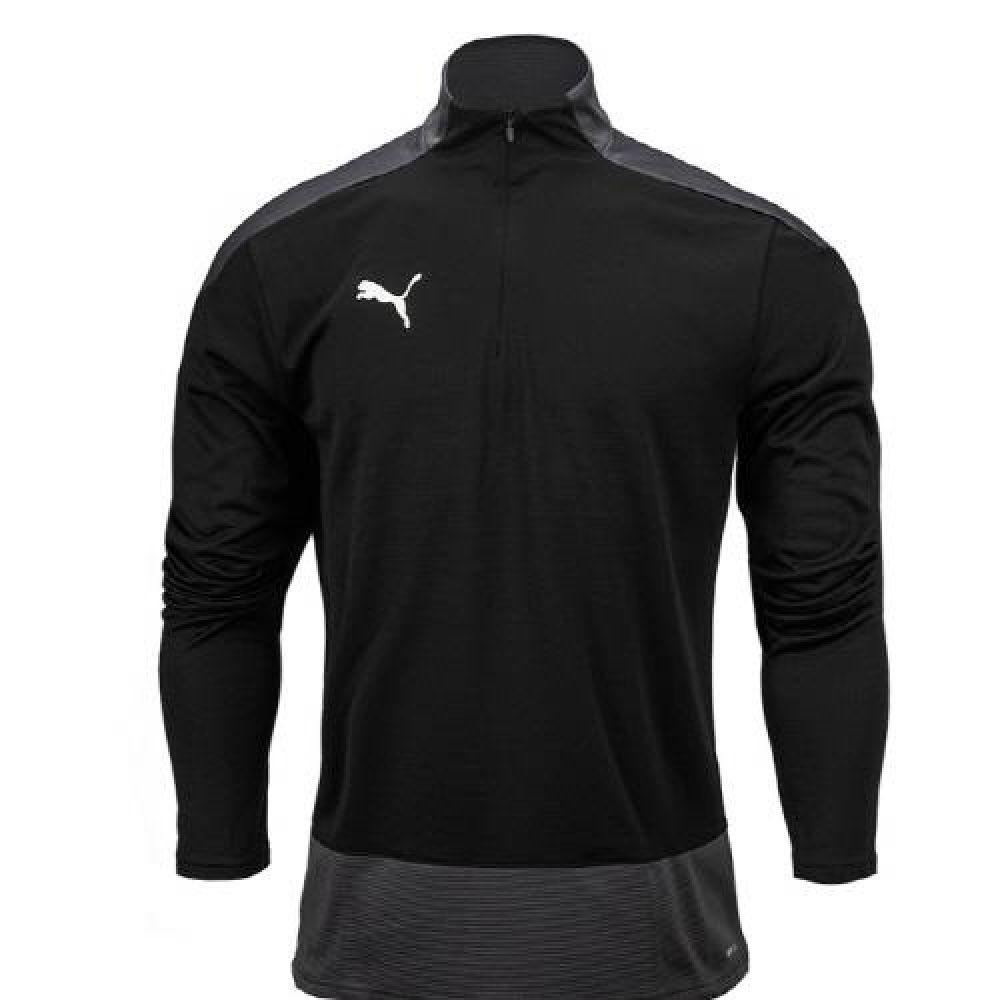 푸마 팀골23 트레이닝 반집업 티셔츠 블랙 푸마티셔츠 트레이닝티셔츠 스포츠티셔츠 운동티셔츠 반집엎티셔츠
