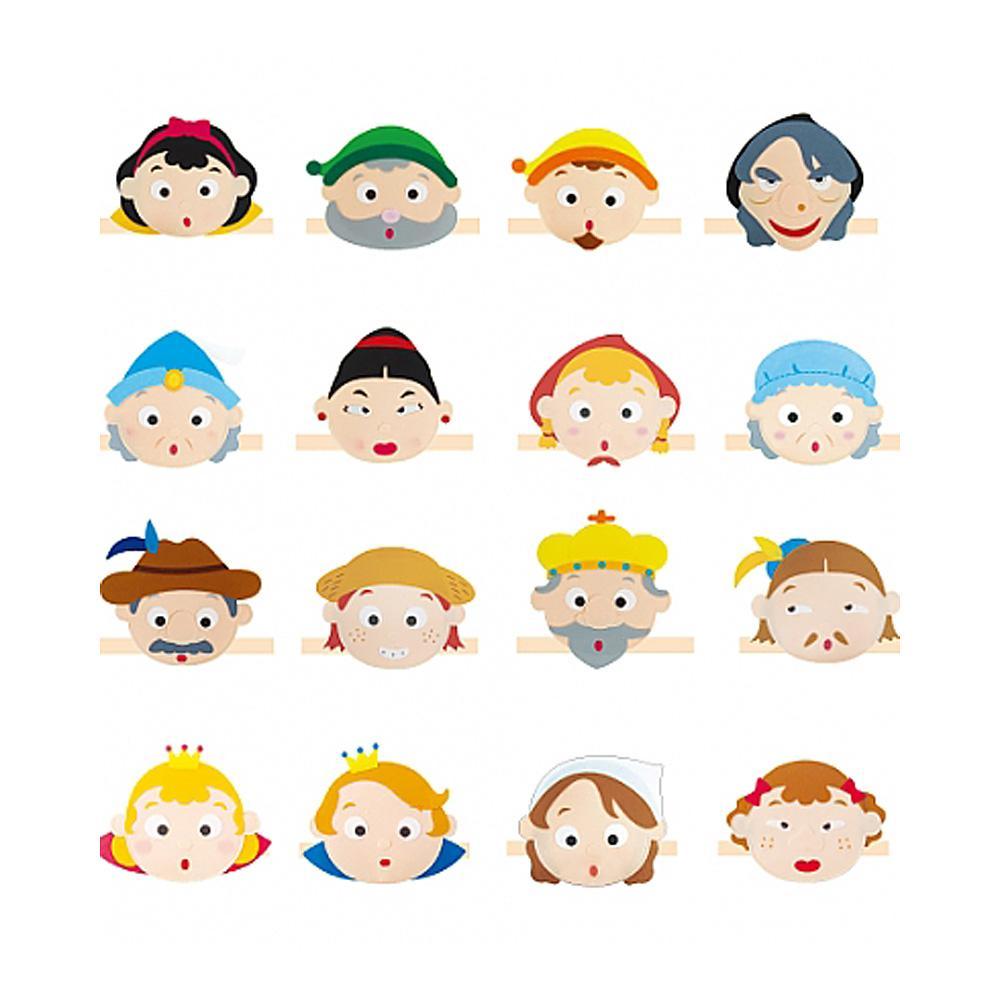어린이집 어린이 유아 교구 명작동화 머리띠 16종 유아원 장난감 2살장난감 3살장난감 4살장난감