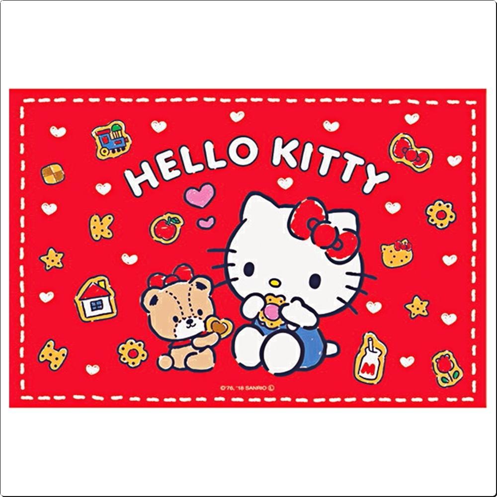 헬로키티 쿠키 휴대용 돗자리S (1인용)(435997) 캐릭터 캐릭터상품 생활잡화 잡화 유아용품