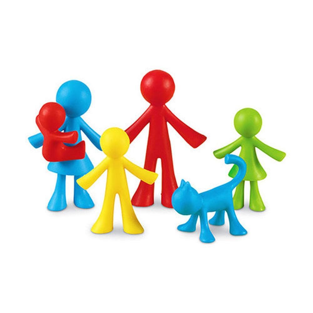 놀이 어린이 아이 학습 교구 가족수세기 24pcs 유아 유아원 장난감 학습교구 교구 놀이교구