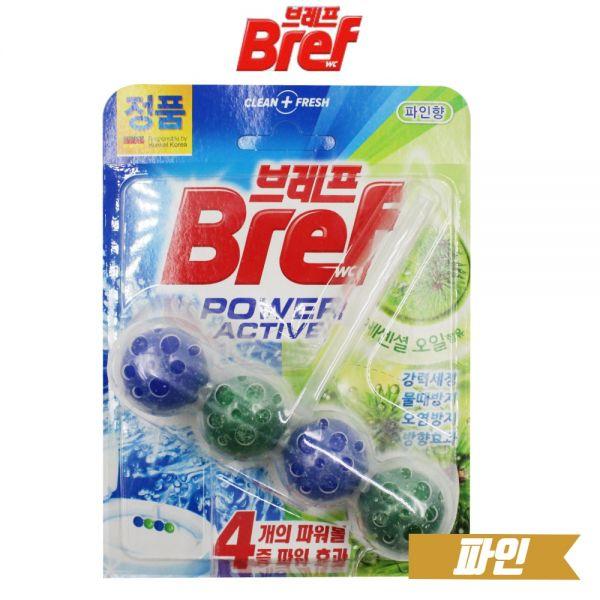 브레프 파워액티브 변기세정제 파인(HDI11) 브레프 파워 액티브 변기 세정제 헨켈 청소 화장실 냄새 파인