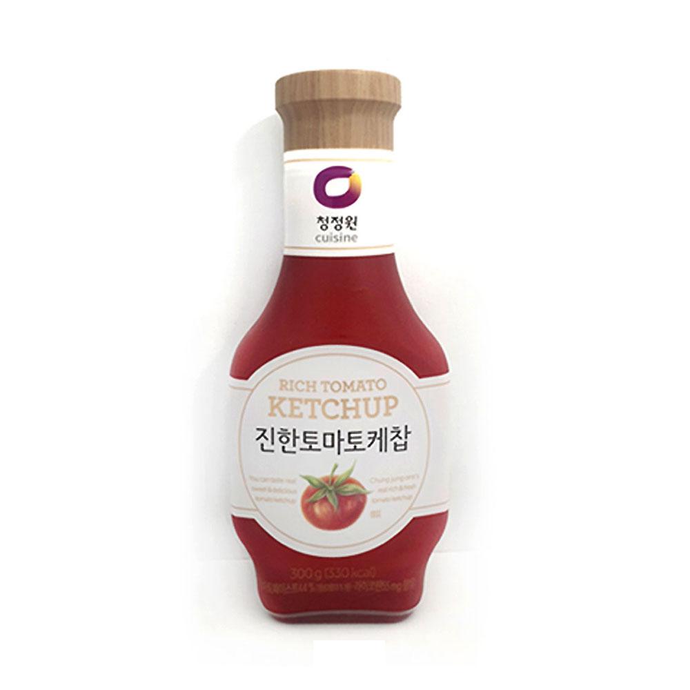 청정원 진한 토마토케찹 300g 케챂 토마토 케첩 케찹 토마토케찹 케챂 청정원 토마토소스