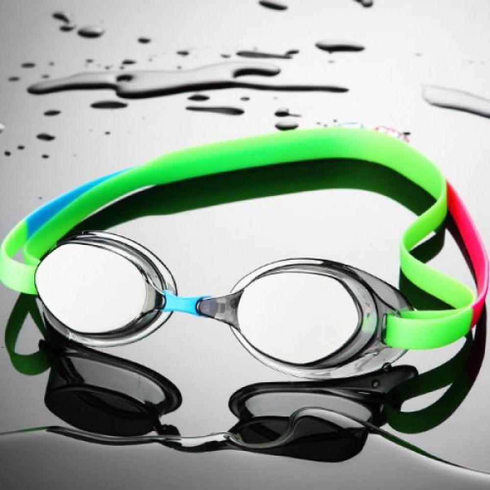 SGL-8200S-SLGR SD7 선수용 노패킹 컬러믹스 수경 수영용품 물안경 남자수경 여자수경 성인물안경
