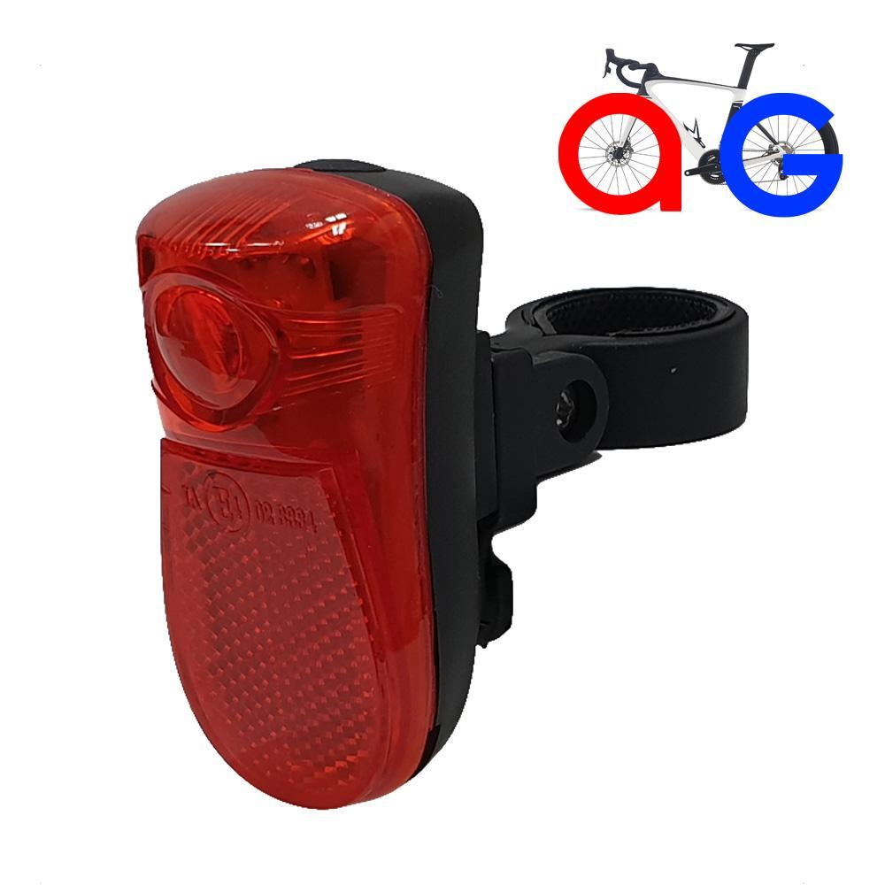 AG106R 자전거 1LED 3모드 안전후미등 라이트 자전거 후미등 안전등 안개등 라이트