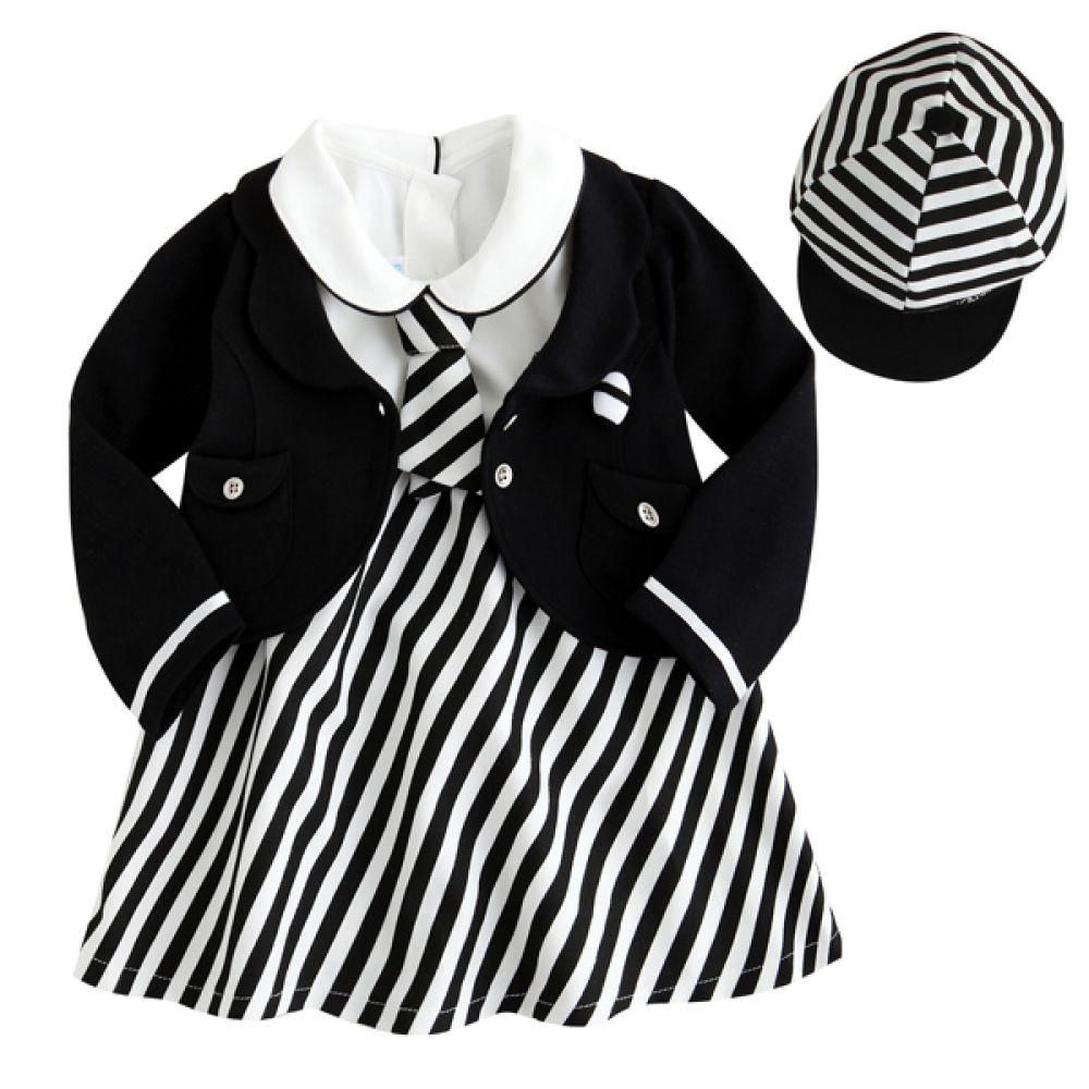 한국 꼬마숙녀 럭셔리 원피스 블랙(3-24개월)203534 아기옷 유아옷 신생아옷 돌복 유아상하복 유아실내복 백일복 아기외출복