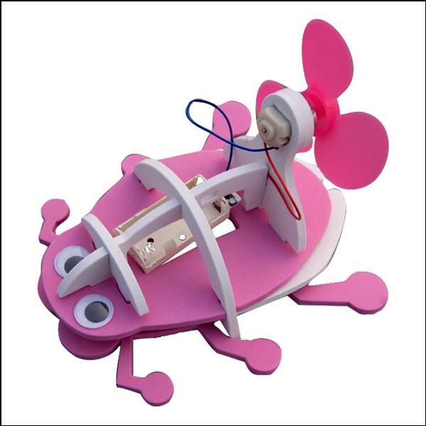 물방개 로봇 풍력 보트 과학교구 두뇌발달 DIY 과학키트 만들기 향앤미