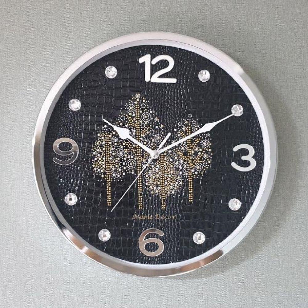 골드우드 무소음 벽시계 (블랙) 벽시계 벽걸이시계 인테리어벽시계 예쁜벽시계 인테리어소품