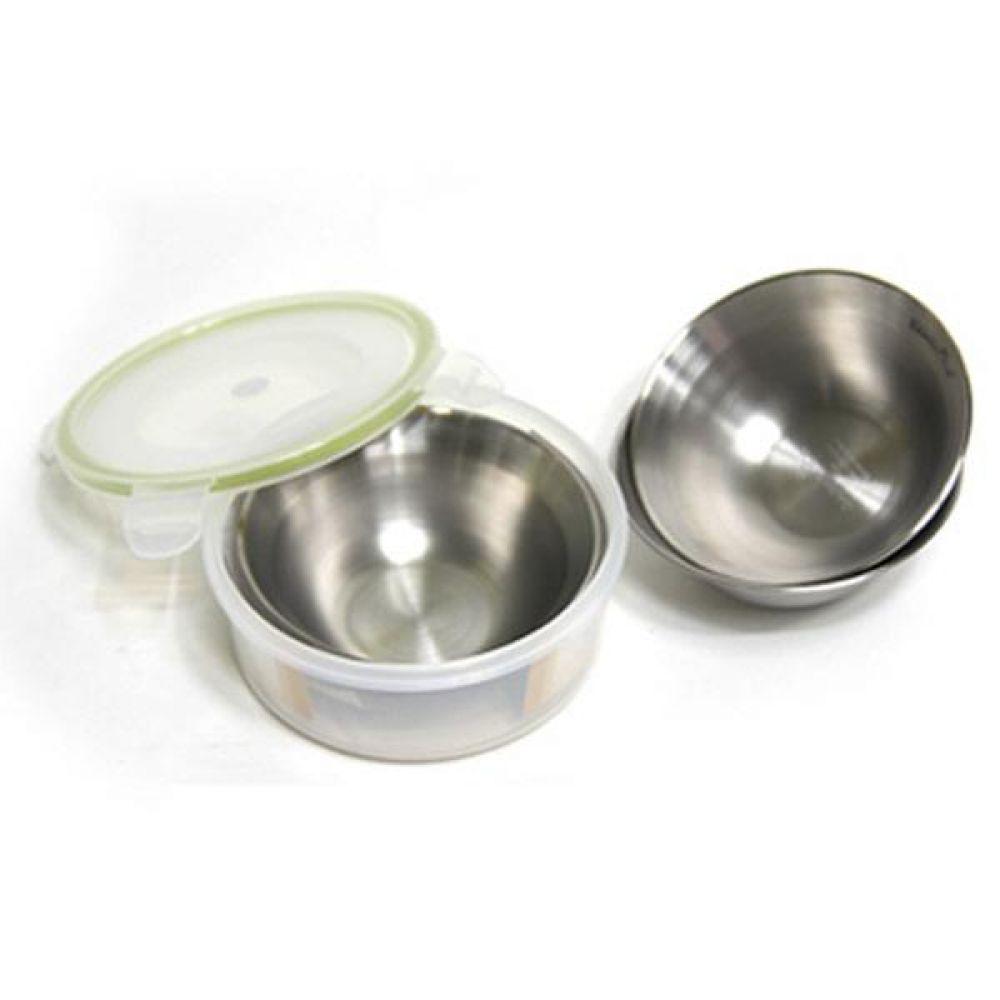 스텐레스 캠핑밥그릇 3종세트 식기세트 그릇세트 그릇 접시세트 국그릇