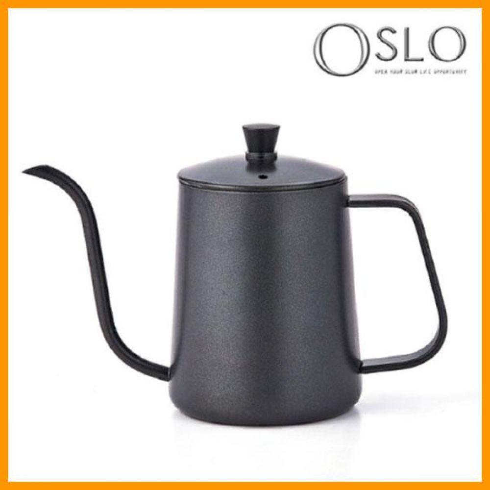 오슬로 커피드립포트 블랙 600ml 포트 드립포트 커피포트 커피드립포트 커피용품