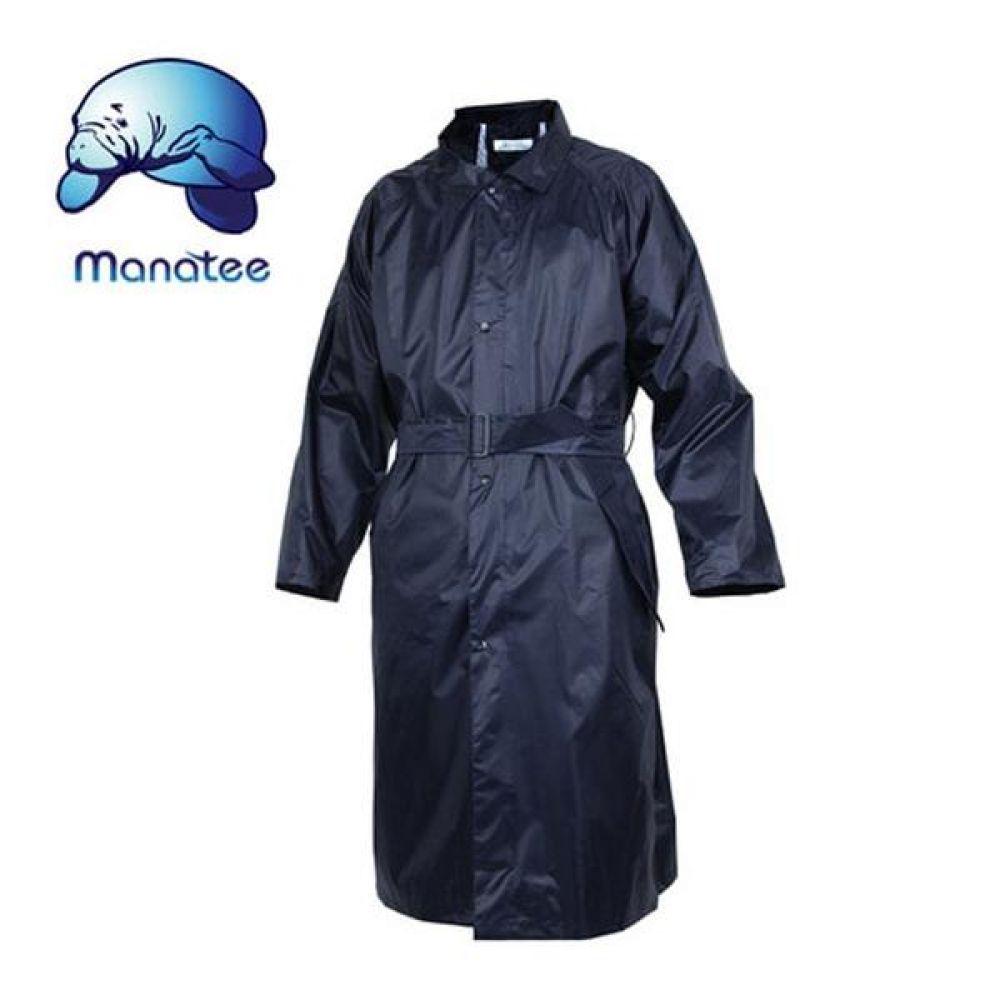 매너티 우의 GI-201(NA) 신사용 레인코트 보호복 코트식우의 코트식비옷 레인코트 남성레인코트 우비 우의 성인우비