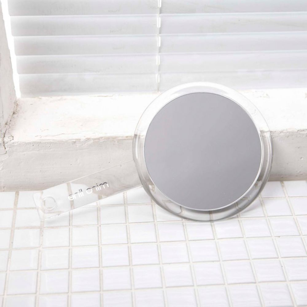 미로 라인 손잡이 원형 거울 휴대용거울 미니거울 휴대용거울 미니거울 거울 손거울 미용거울