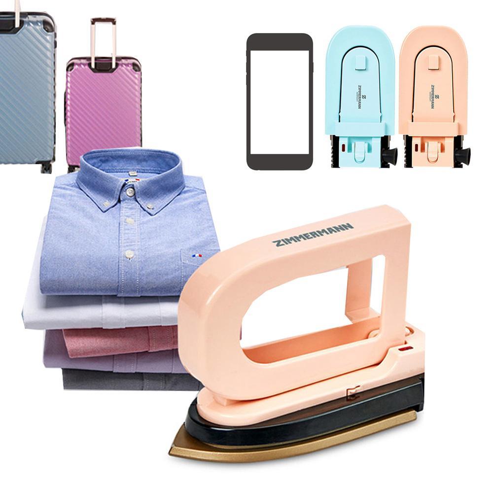 짐머맨 여행용 폰크기 미니 전기다리미 다리미 전기다리미 여행용 휴대용 미니다리미