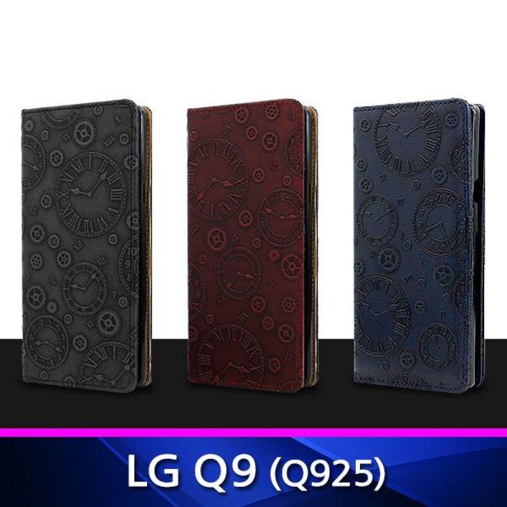 LG Q9 MJ 가죽 플립 지갑형 폰케이스 Q925 핸드폰케이스 휴대폰케이스 천연가죽케이스 지갑형케이스 Q9케이스