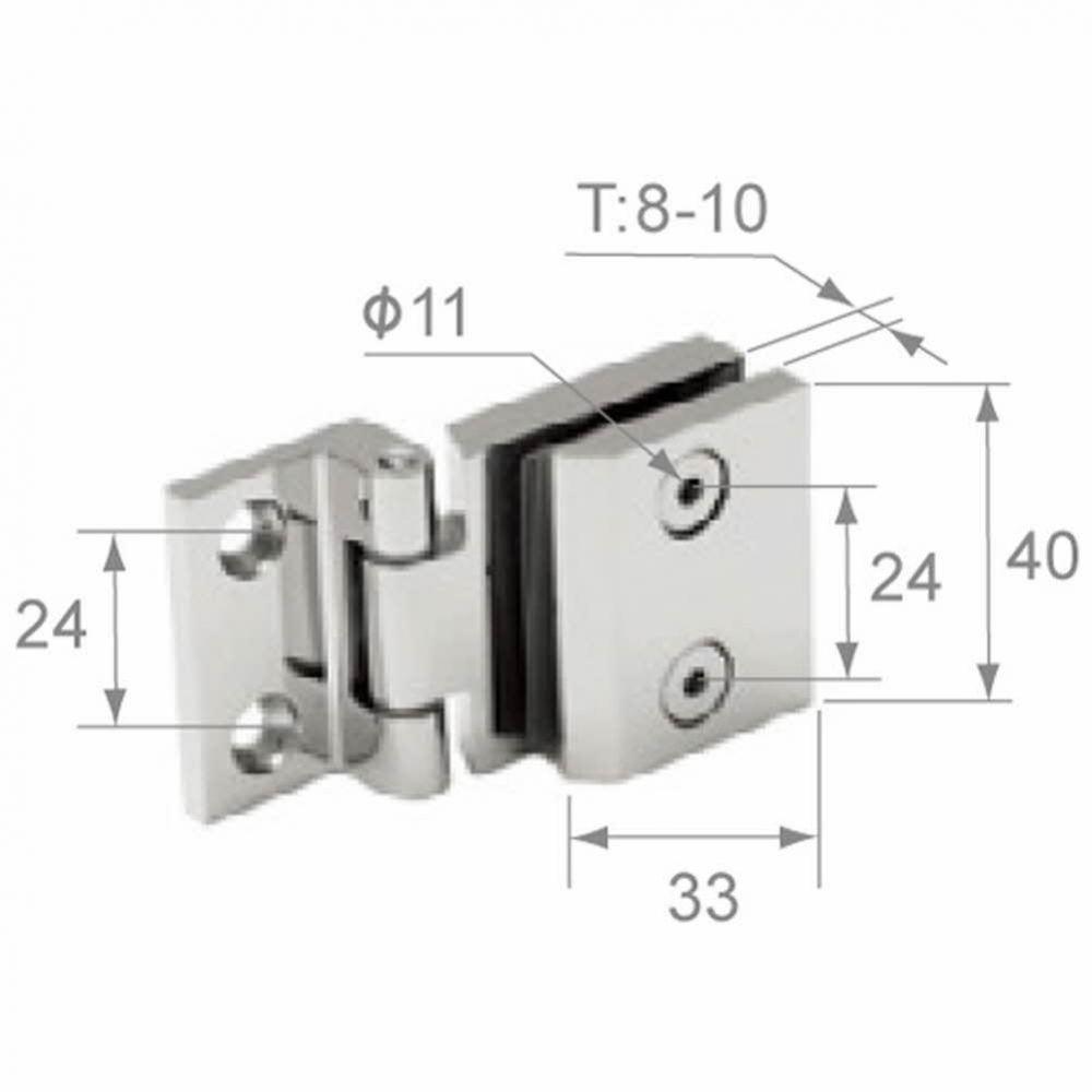 UP)스텐타공경첩-(SH-0510) 생활용품 철물 철물잡화 철물용품 생활잡화