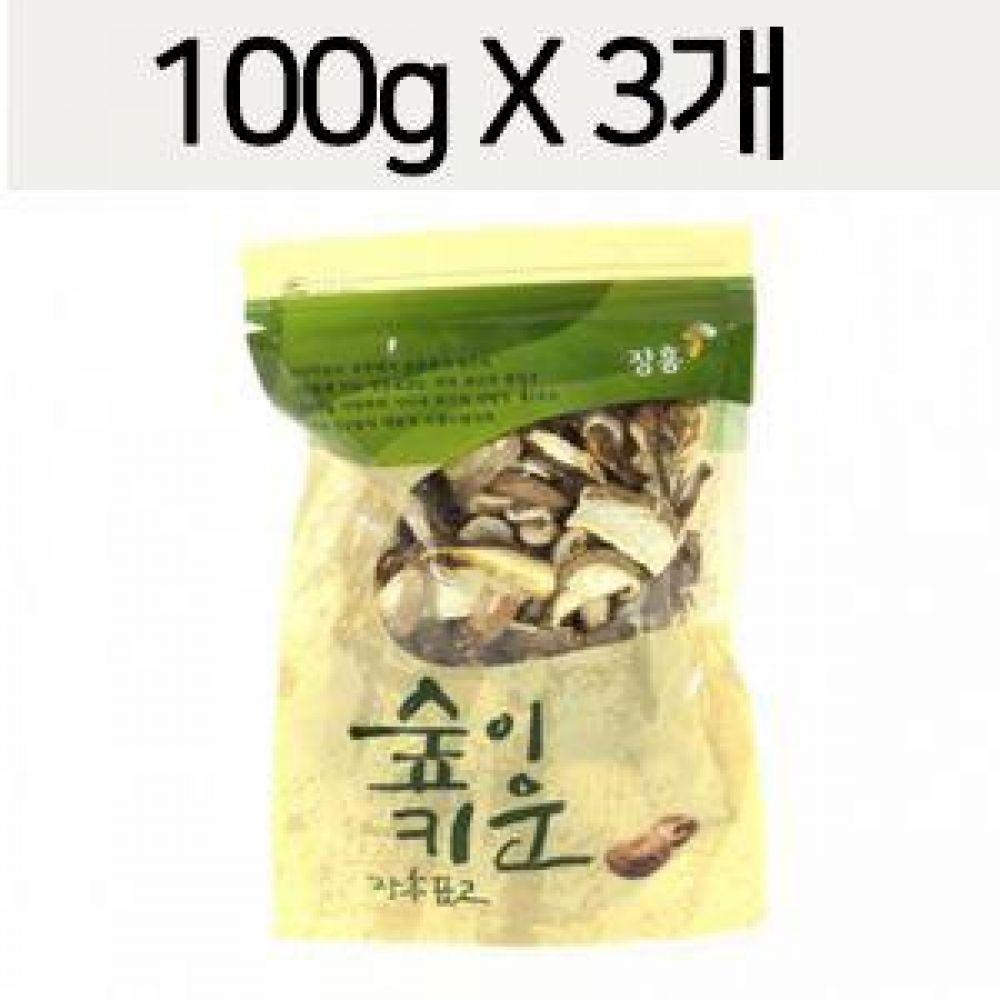 표고버섯 절편 300g 표고버섯을 슬라이스하여 포장 식품 농산물 채소 표고버섯 표고버섯절편