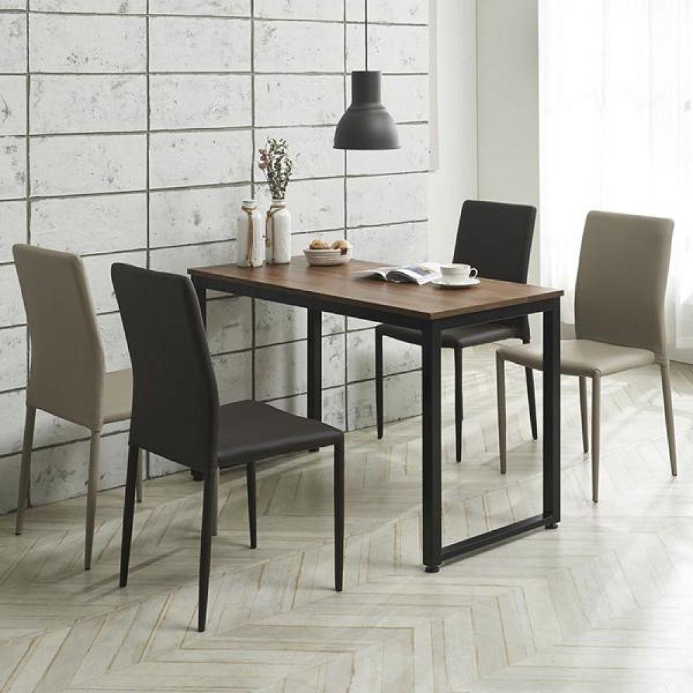 심플라인 플러스 철제 식탁 세트 1200 테이블 다용도상 거실테이블 티이블 미니테이블