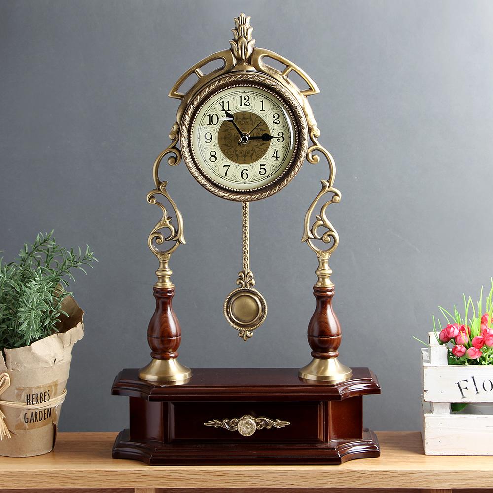 아트피플-A243 청동 오리엔탈 탁상 추시계 시계 탁상시계 엔틱시계 앤틱시계 스탠드시계