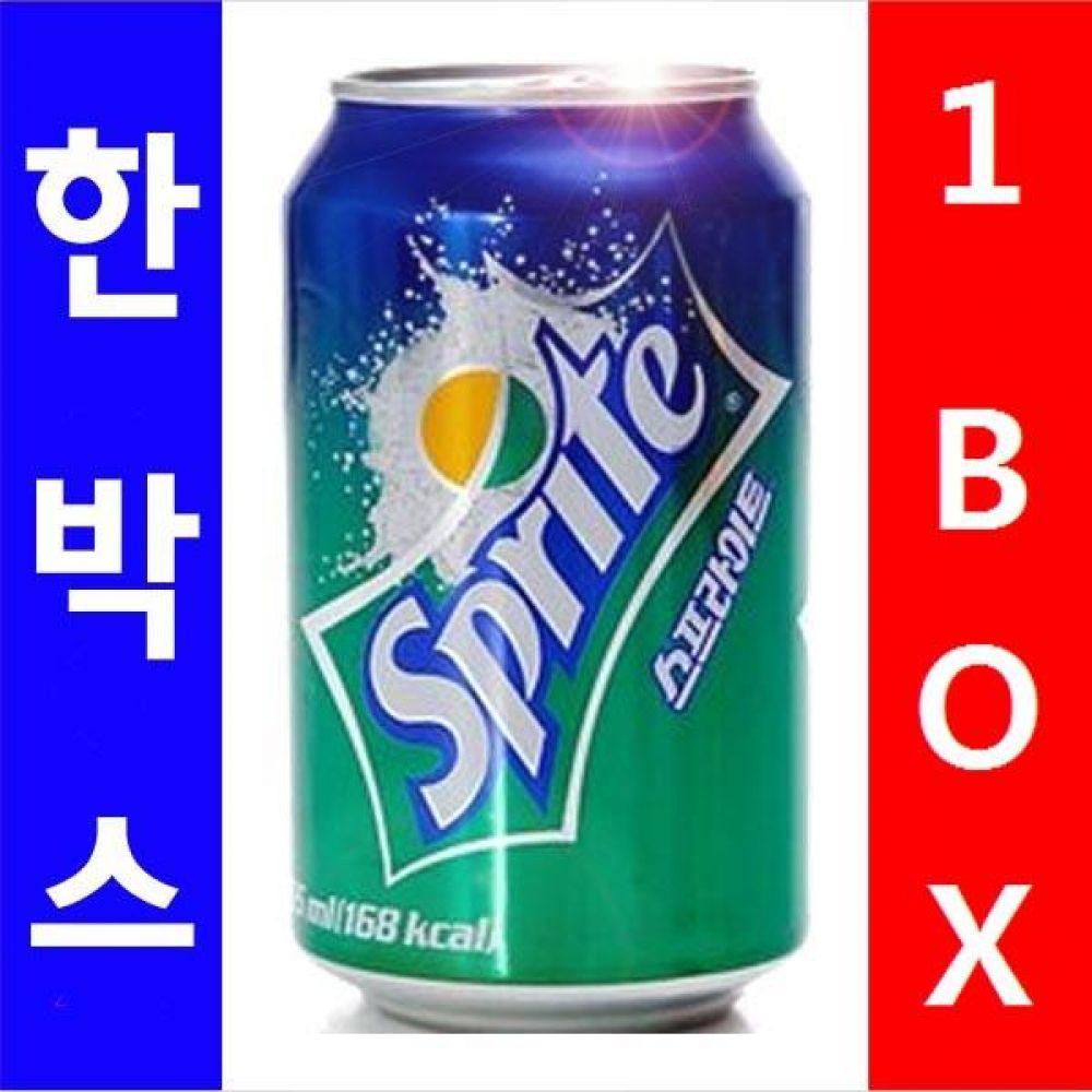 코카)스프라이트 355ml 1박스(24캔) 대량 도매 세일 판매 음료