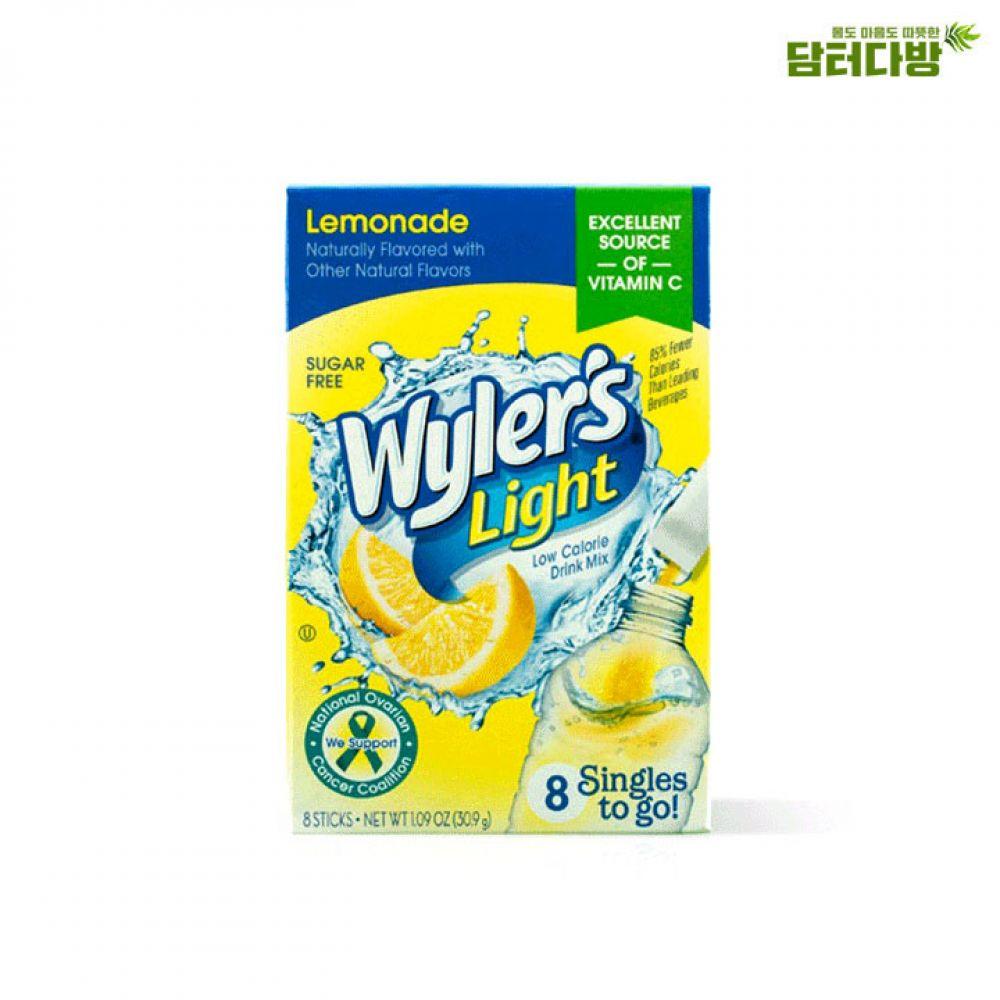 와일러스 레몬드링크믹스 8스틱/설탕무첨가 와일러스 레몬홍차 레몬에이드 부담없는 누구나좋아하는 맛있는에이드 시원한 여름상품 아이들이좋아하는 에이드레몬차