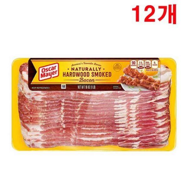 냉장 미국 오스카마이어베이컨 12개 오스카마이어베이컨 배이컨 베이컨삼겹살 삼겹살베이컨 미국베이컨