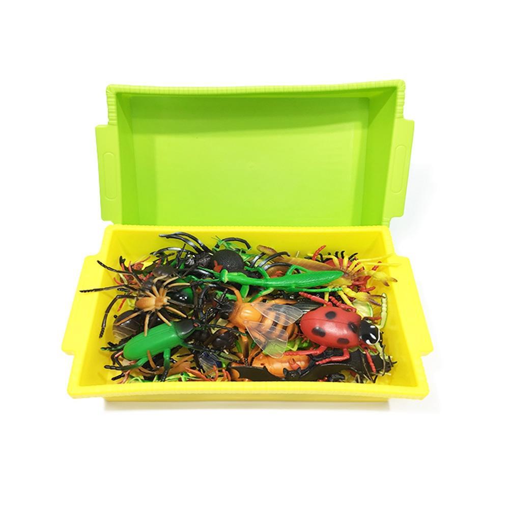 56종세트 유아 아이 놀이 장난감 소프트 곤충모형 유아원 장난감 2살장난감 3살장난감 4살장난감