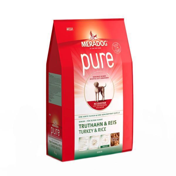 소분 메라독 퓨어 시니어(칠면조n쌀n초유) 1.3kg 애완사료 건강사료 수제사료 애완용품 사료