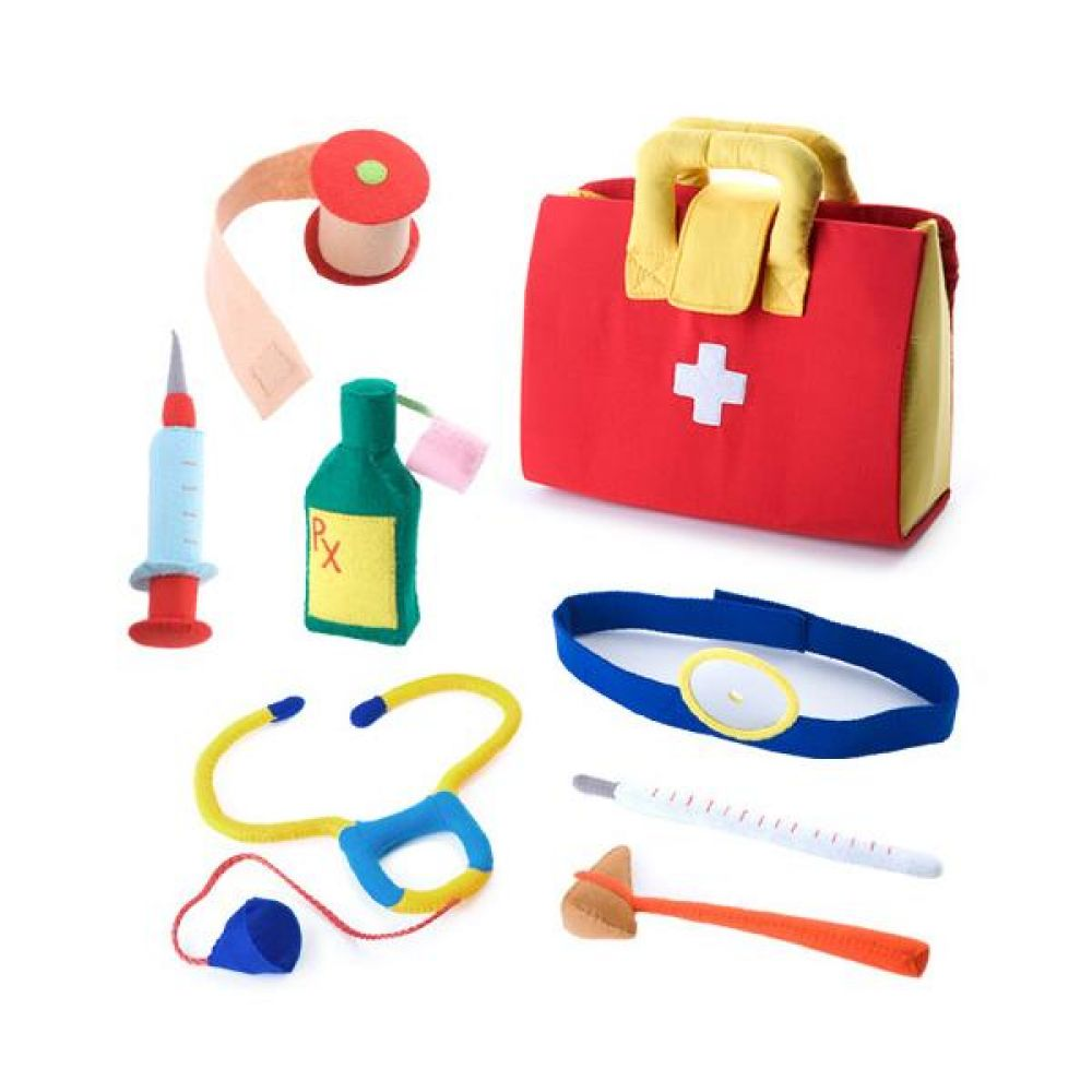 역할놀이 의사놀이 빨강가방 완구 문구 장난감 어린이 캐릭터 학습 교구 교보재 인형 선물