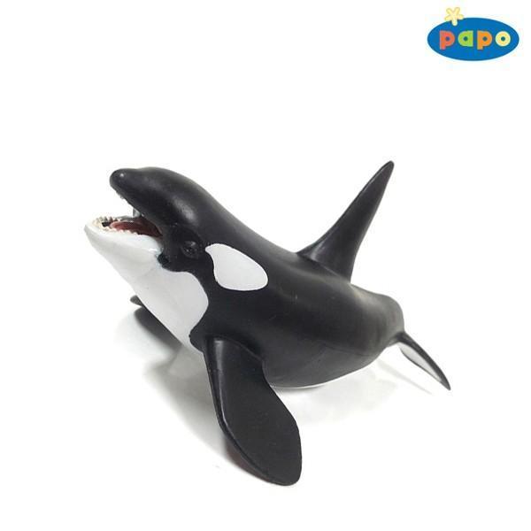 파포 (해양동물 모형완구) 범고래 (56000) 동물모형 해양동물 모형완구 범고래 완구