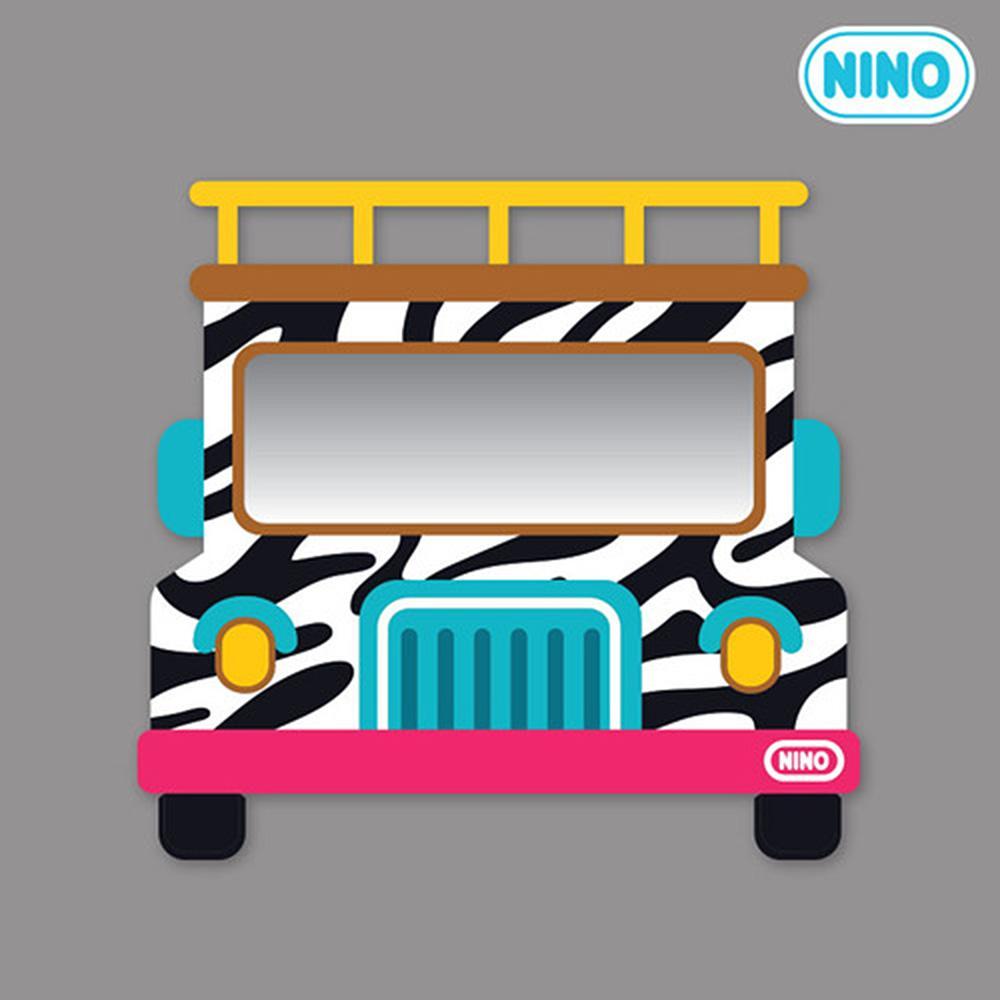 정면 아이방 소품 안전 거울 니노 미러보드 사파리차 안전거울 어린이집 유아원 인테리어소품 아이놀이