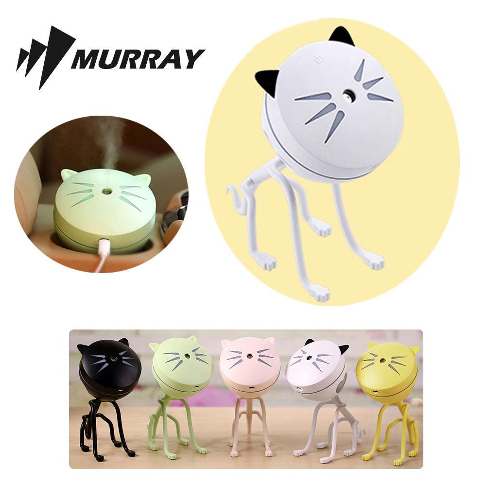 고양이 미니 가습기 MKHUMI-02 화이트 탁상용 사무용 탁상용 사무용 미니 가습 가습기