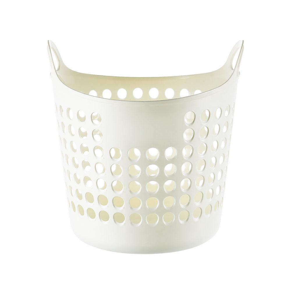 필수템 M 세탁 플라스틱 빨래 바구니 보관함 자취 빨래바구니 접이식빨래바구니 대용량빨래바구니 세탁바구니 플라스틱빨래바구니