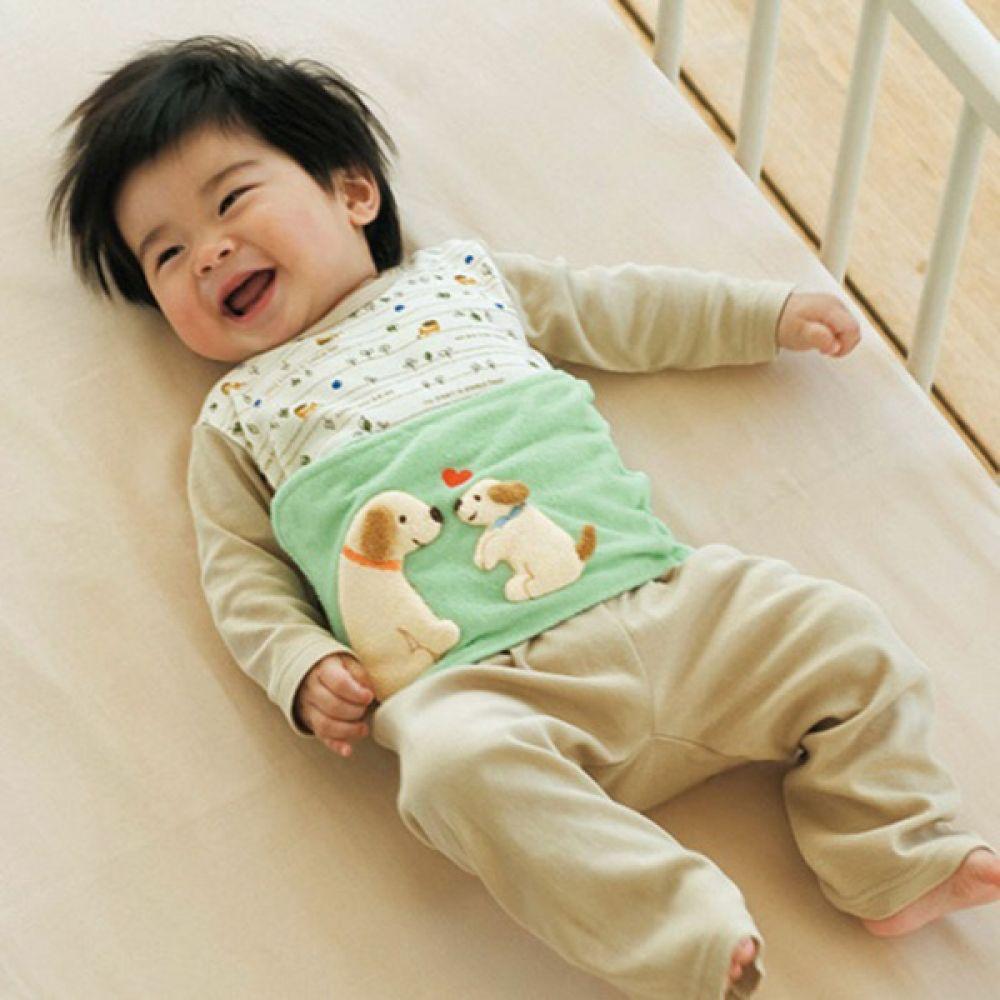 애니멀 셔링 배앓이 방지 니퍼(0-4세) 202596 아기복대 복대 배앓이방지 니퍼 보온니퍼 아기옷 유아옷 배가리개 아기배앓이방지 유아배앓이방지 엠케이