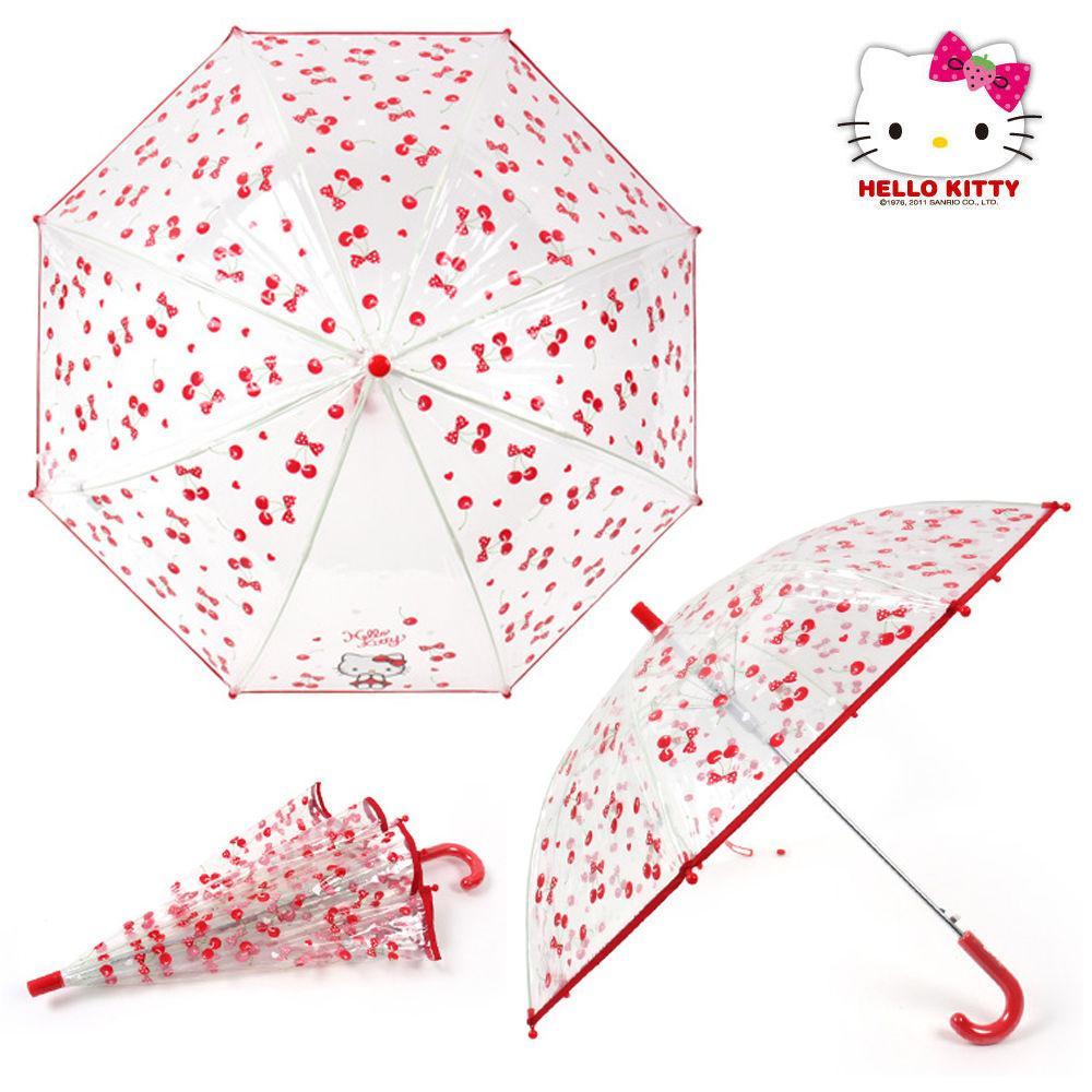 성창 키티 47 체리 POE 우산 어린이 우산 아동우산 아동 캐릭터