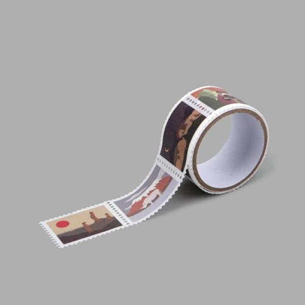 몽동닷컴 Masking tape stamp - 09 Safari 테이프 마스킹테이프 종이테이프 종이마스킹테이프 데코 데코레이션 리폼 데코스티커 스티커 꾸미기 포인트 데일리라이크 디자인문구