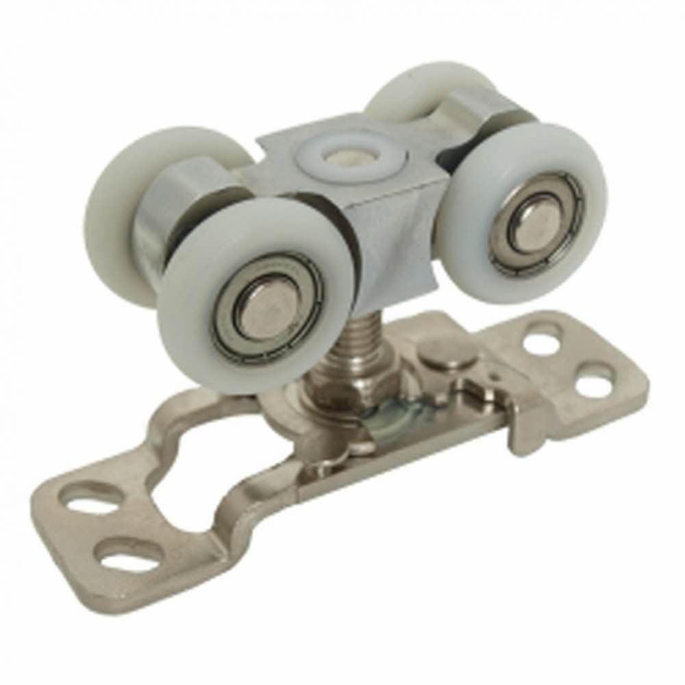 UP)61번-벽체레일용-4륜롤러-원터치 생활용품 철물 철물잡화 철물용품 생활잡화