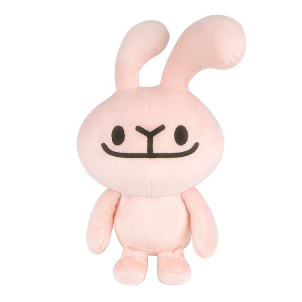 바글바글 하토씨 봉제인형 25cm_핑크 하토씨 하토씨인형 바글바글하토씨 캐릭터인형 토끼인형 바니인형 인형선물 어린이선물 어린이날 봉제인형