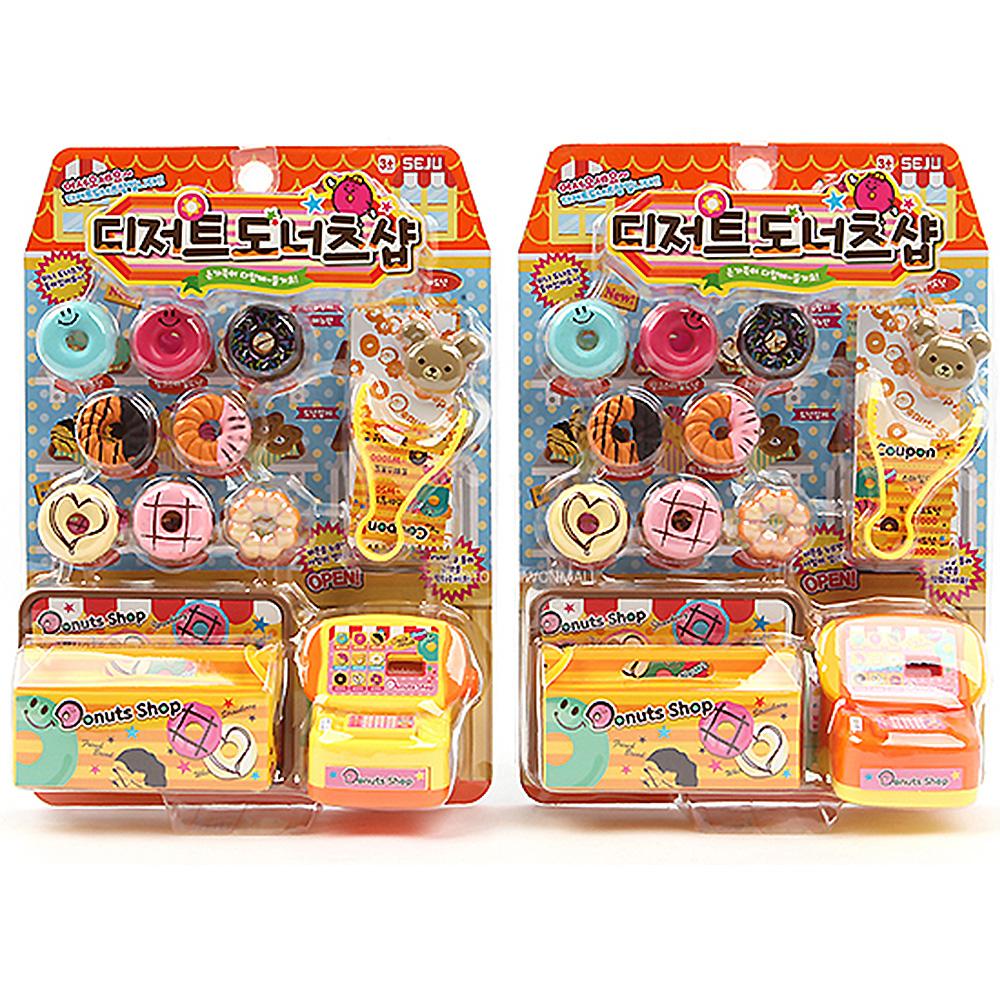디저트 도너츠샵 (색상랜덤) 유아동완구 아동완구 장난감 자동자장난감 인형놀이 보드게임