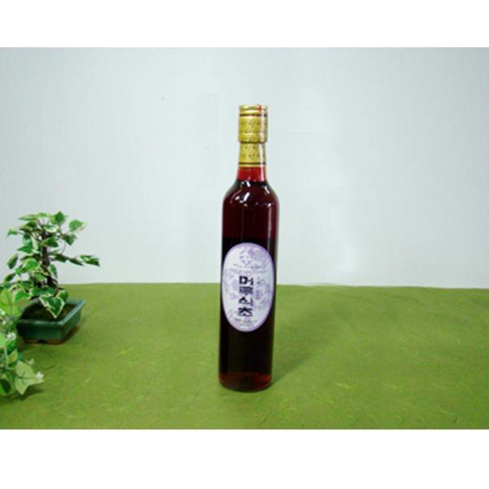 류충현 머루식초 360ml 원료의 맛과 향이 살이있는 고급 음용 식초 건강 식품 버섯 머루 식초