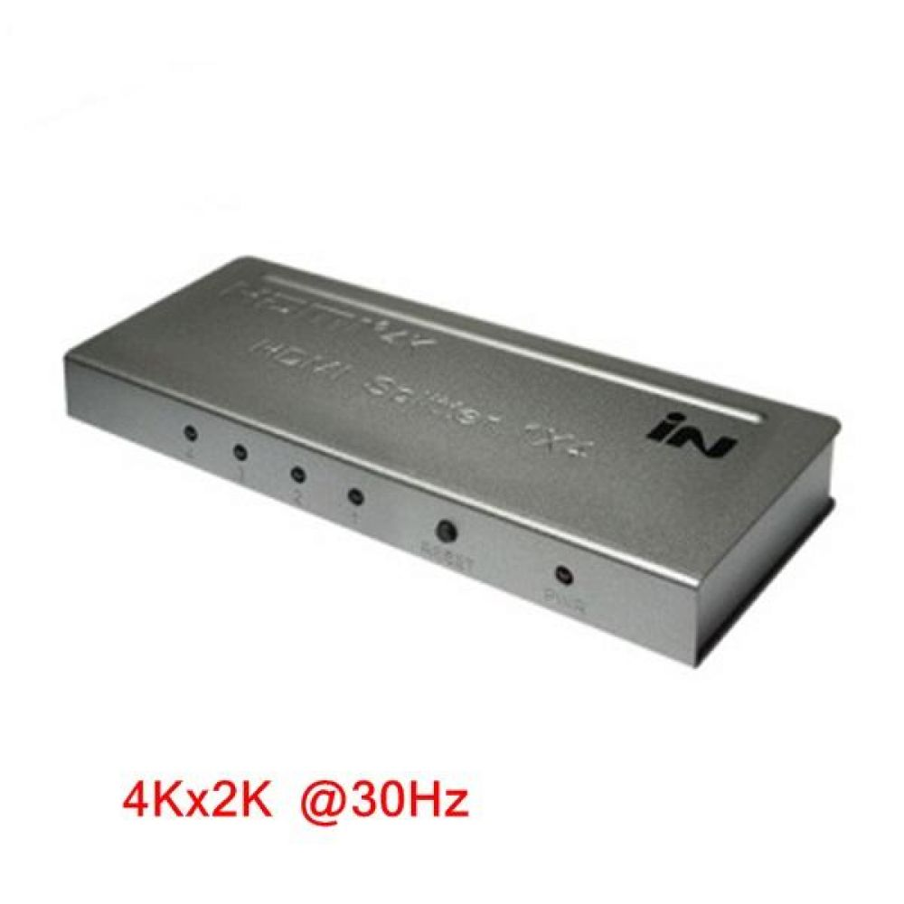 HDMI 모니터 분배기 1 대 4 컴퓨터용품 PC용품 컴퓨터악세사리 컴퓨터주변용품 네트워크용품 rgv케이블 컴포넌트케이블 dsub케이블 vga젠더 hdmi컨버터 av셀렉터 hdmiav utp케이블 컴포지트케이블 무선송수신기